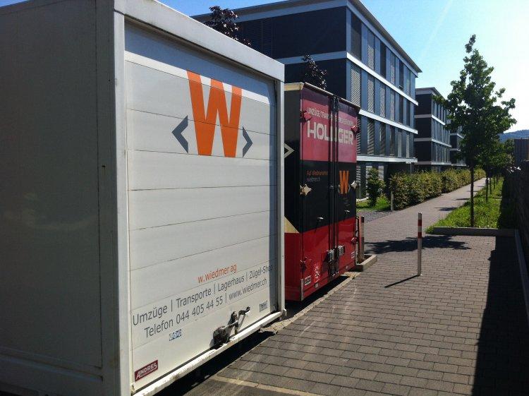 Projektreferenzen W Wiedmer Ag Umzuge Und Transporte Zurich